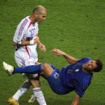 Testata Zidane, Materazzi, William Galt