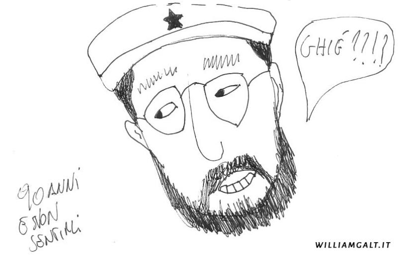 Diario S4 G35. Castro: alzati e cammina